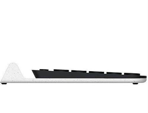 купить Клавиатура Logitech K780 Dark Grey-Speckled White Multi-Device Wireless Keyboard, USB, 920-008043 (tastatura fara fir/беспроводная клавиатура) в Кишинёве