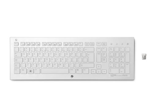 cumpără HP Wireless K5510 White keyboard, ultra-slim design în Chișinău