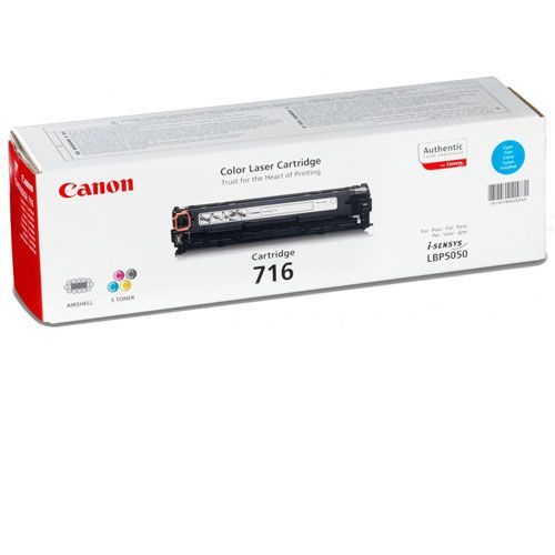 купить Cartridge Canon 716, (HP CB541A), cyan (1500 pages) for LBP-5050/5050N, MF8030Cn/8050Cn/8080Cw в Кишинёве