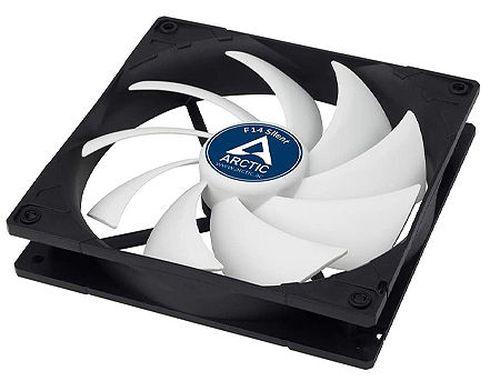 купить Case/CPU FAN Arctic F14 Silent, 140x140x27 mm, 3-pin, 800rpm, Noise 0.08 Sone (@ 800 RPM), 46 CFM (78 m3/h) в Кишинёве
