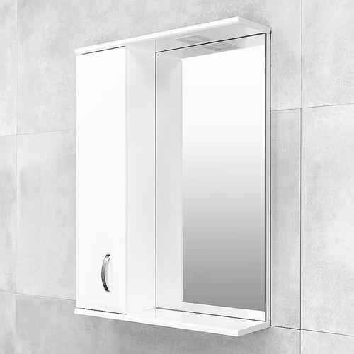 купить Tory Шкаф-зеркало белое хром 600 L в Кишинёве