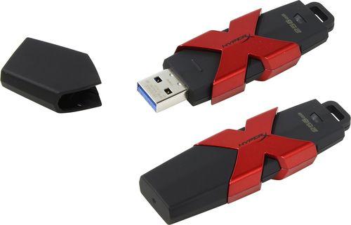 cumpără 256GB USB3.1 HyperX SAVAGE Black, (Read 350 MByte/s, Write 250 MByte/s) în Chișinău