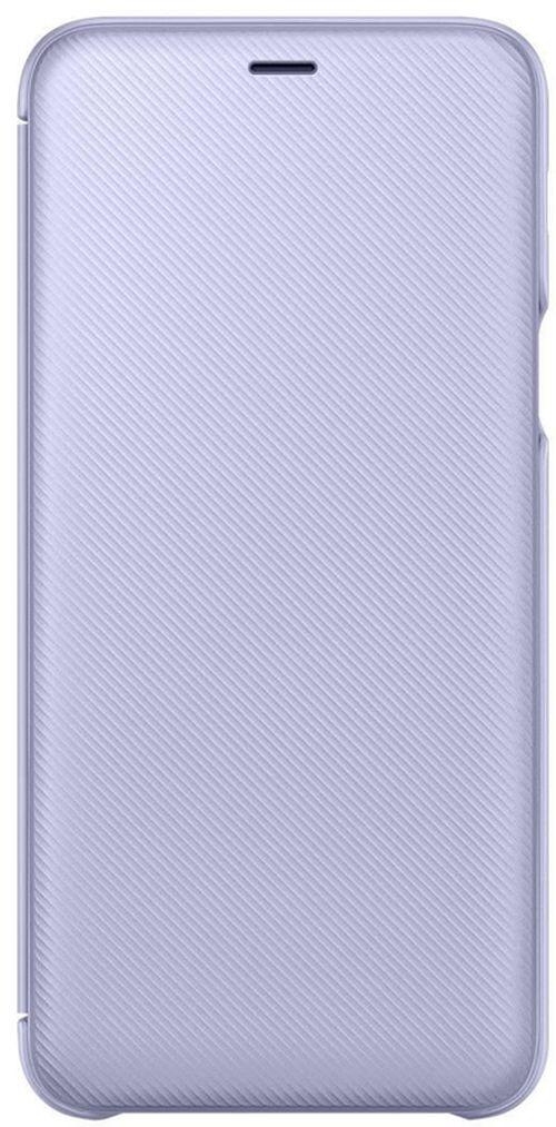 купить Чехол для моб.устройства Samsung EF-WA605, Galaxy A6+, Flip Cover, Violet в Кишинёве
