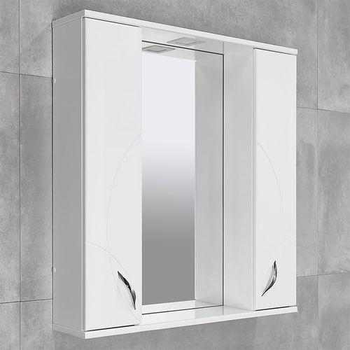 купить Premium Шкаф-зеркало белый 800/2 LR в Кишинёве