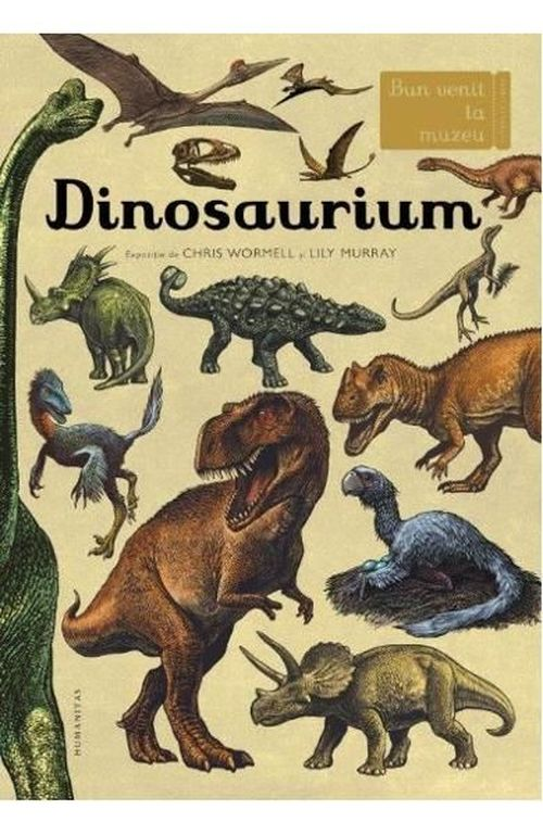 купить Dinosaurium-Chris Wormell, Lily Murray(ro) в Кишинёве