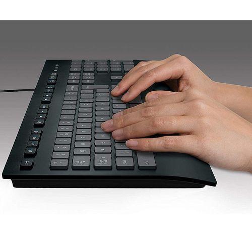 купить Клавиатура Logitech K280E PRO Black Corded Keyboard , USB, 920-005215 (tastatura/клавиатура) в Кишинёве