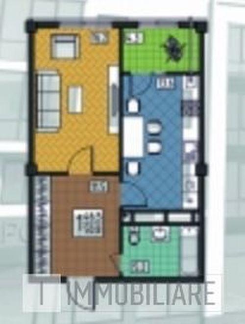 Apartament cu 1 cameră, sect. Botanica, str Trandafirilor.