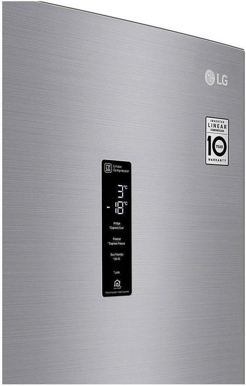 cumpără Frigider cu congelator jos LG GA-B509MMQZ în Chișinău