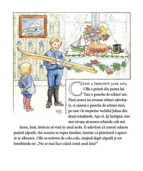 купить Călătoria lui Olle pe schiuri - Elsa Beskow в Кишинёве