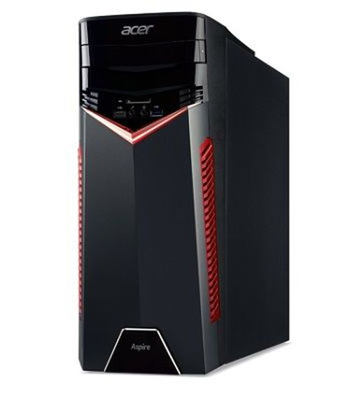 купить Acer Aspire GX-281 (DG.E0FME.010) AMD Ryzen 7 1700 up to 3.70 GHz, 16GB (2*8GB) DDR4 RAM, 256GB SSD + 2TB HDD, DVDRW, Cardreader, NVIDIA GTX1070 8GB Graphics, 500W PSU, Endless OS, no KB/MS, Black в Кишинёве