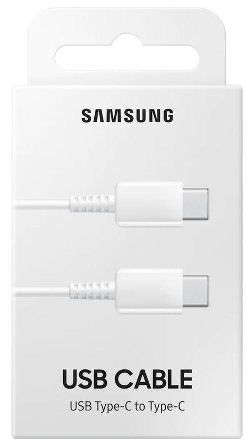 cumpără Cablu telefon mobil Samsung EP-DA705 Type-C to Type-C Cable White în Chișinău