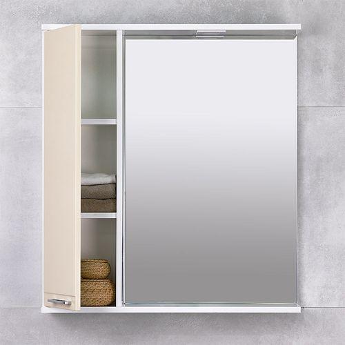 купить Rivera Шкаф-зеркало беж 750 L в Кишинёве