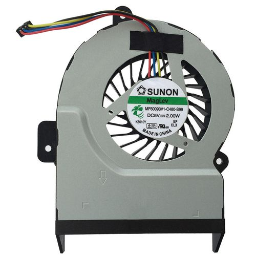 купить CPU Cooling Fan For Asus X55 X45 (INTEL, Video Integrated / 10mm) (4 pins) Original в Кишинёве