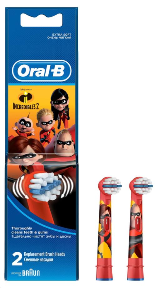 cumpără Accesoriu perie de dinți Oral-B EB 10 2 Incredibles în Chișinău