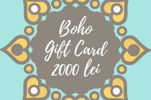 купить Подарочный сертификат Boho в Кишинёве