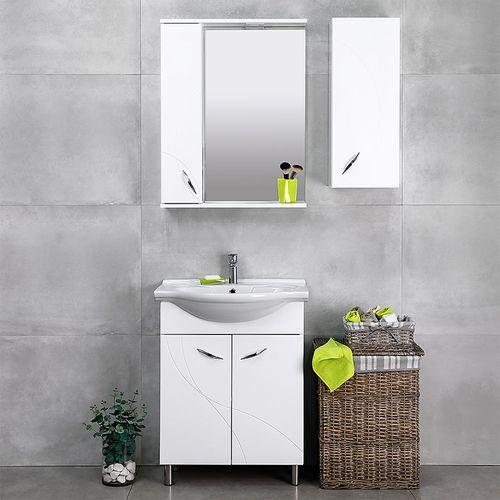 купить Premium Шкаф белый Pro под умывальник Baikal 650 в Кишинёве