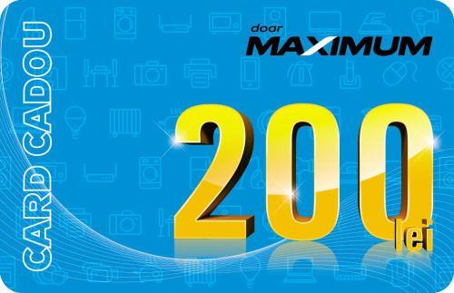 купить Сертификат подарочный Maximum 200 MDL в Кишинёве