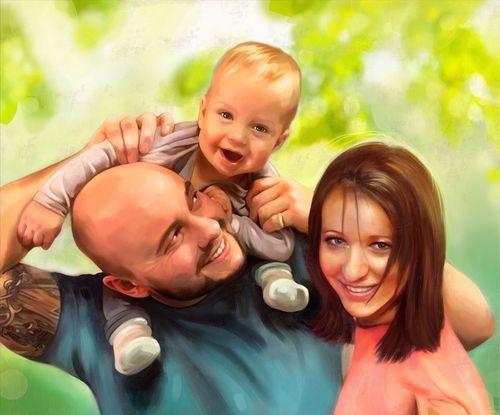 cumpără Portret cu familia în Chișinău