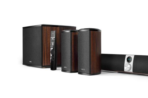 cumpără Edifier S90HD 4.1 Channel Soundbar Home Theatre System with Dolby & DTS, Bluetooth V4.1 aptXTM, 5.8G wireless subwoofer and rear surround speakers,  Audio in: two analog (RCA), optical, coaxial, aux, remote control, wooden în Chișinău