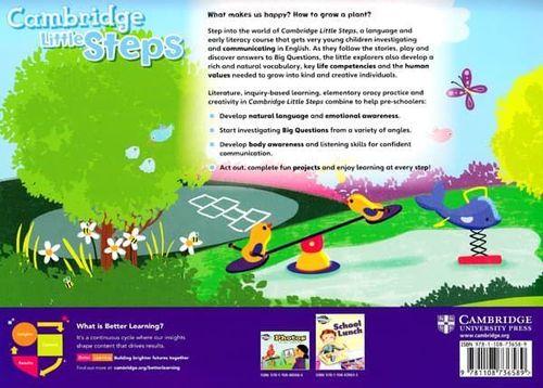 купить Cambridge Little Steps Level 2 Student's Book в Кишинёве
