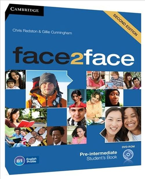 купить face2face Pre-intermediate Student's Book with DVD в Кишинёве