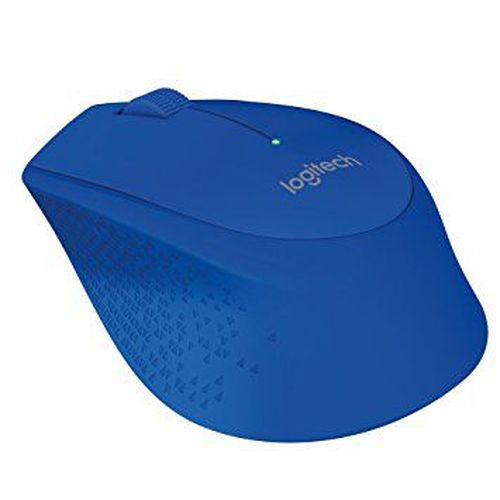 купить Logitech Wireless Mouse M280 Blue, Optical Mouse, Nano receiver, Retail в Кишинёве