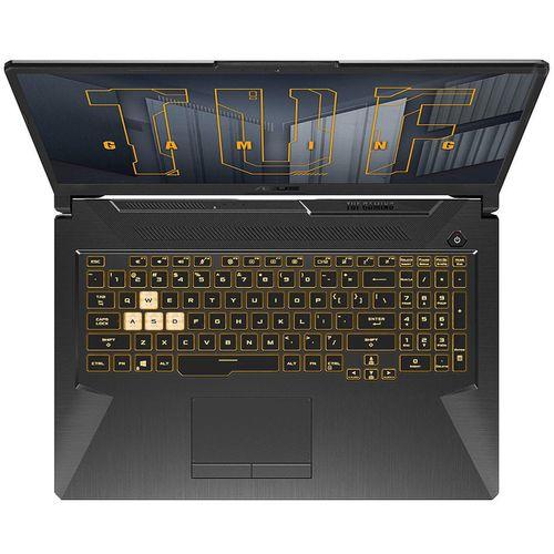 "купить Ноутбук 17.3"" ASUS TUF Gaming F17 FX706HE, Intel i5-11400H 2.7-4.5GHz/16GB DDR4/M.2 NVMe 512GB SSD/GeForce RTX3050Ti 4GB GDDR6/WiFi 6 802.11ax/BT5.1/USB Type C/HDMI/Thunderbolt 4/ Backlit RGB Keyboard/17.3"" FHD IPS LED-backlit 144Hz (1920x1080)/NoOS/Gaming FX706HE-HX043 в Кишинёве"