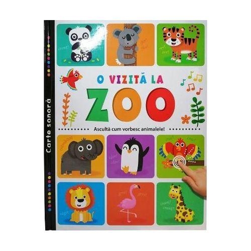 купить O vizită la zoo. Ascultă cum vorbesc animalele! в Кишинёве