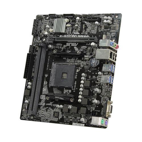 купить Материнская плата  ASUS PRIME A320M-R-SI A320, AM4, Dual DDR4 3200MHz, PCI-E 3.0/2.0 x16, HDMI/RGB, USB 3.1, SATA RAID 6Gb/s, M.2 x4 Socket, SB 8-Ch., GigabitLAN, LED lighting, (placa de baza/материнская плата) в Кишинёве