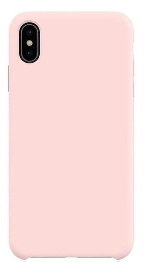 купить Чехол для смартфона Helmet iPhone XS Max, Pink Liquid Silicone Case в Кишинёве