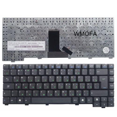 купить Keyboard Asus A3 A6 A3000 A6000 ENG/RU Black в Кишинёве