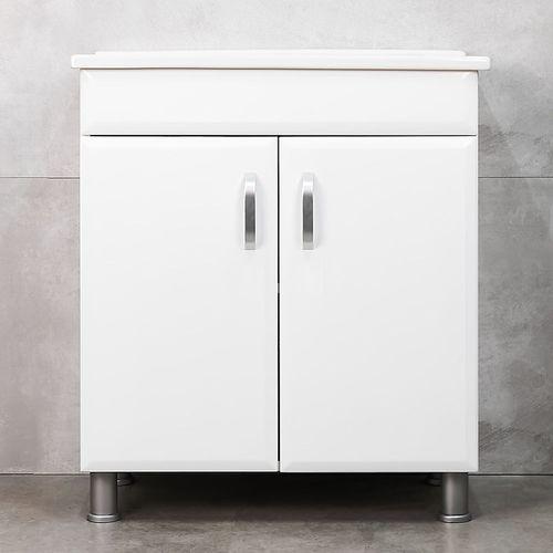 купить Diamis Шкаф белый с умывальником Atria 750 в Кишинёве