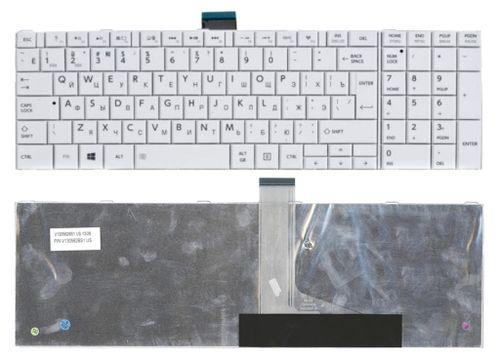 купить Keyboard Toshiba Satellite C850 C855 C870 C875 L850 L855 L870 L875 P850 P855 P870 P875 ENG/RU White в Кишинёве