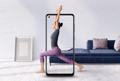 cumpără Smartphone Samsung A217/64 Galaxy A21 Blue în Chișinău