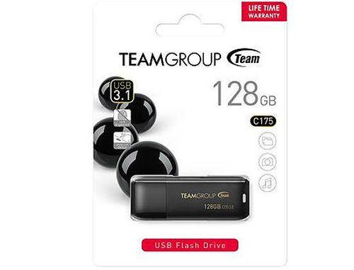 купить 128GB USB Flash Drive Team C175, USB 3.0, TC1753128GB01 (memorie portabila Flash USB/внешний накопитель флеш память USB) в Кишинёве