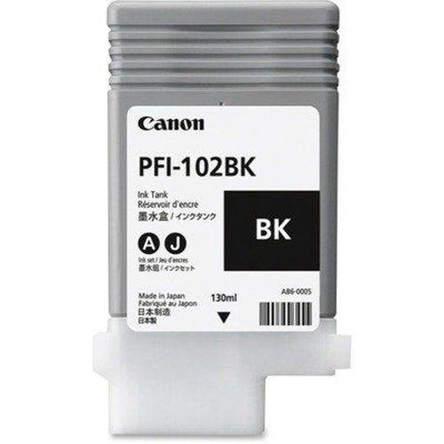 купить Cartridge Canon PFI-102BK, Black for iPF500/600/700Series, 130ml в Кишинёве
