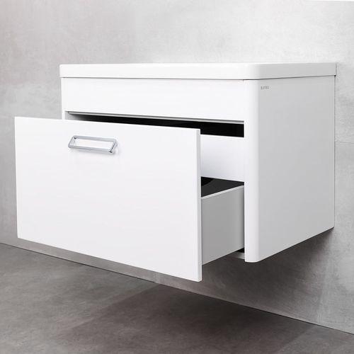 купить Cristal Шкаф белый про с умывальником Jasmina 750 в Кишинёве