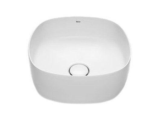 INSPIRA раковина-чаша 370*370мм, Soft, с керамической крышкой донного клапана