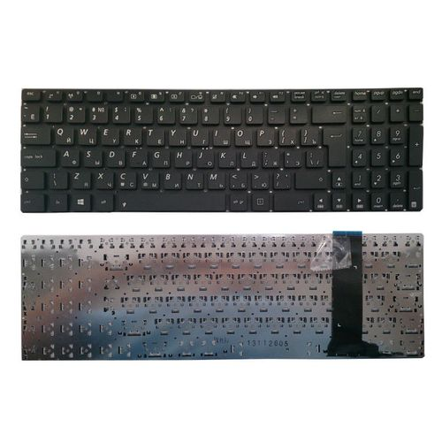 "купить Keyboard Asus N550 N56 N76 N750 Q550 R552 U500 w/o frame ""ENTER""-big ENG. Black в Кишинёве"