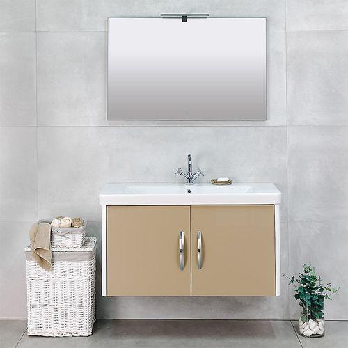 купить Modern LED Touch 3D Зеркало капучино 1000x650 в Кишинёве