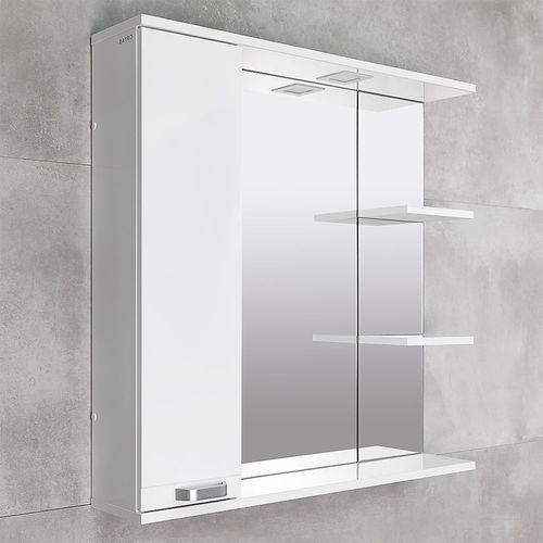 купить Rivera Шкаф-зеркало белый 860 L в Кишинёве
