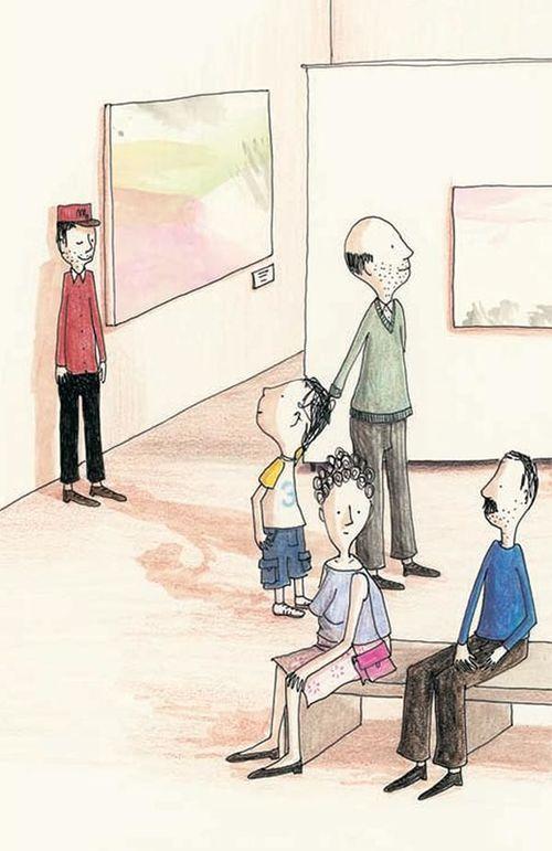 купить Детская Книжка-картинка День в музее - Флоранс Дюкато в Кишинёве