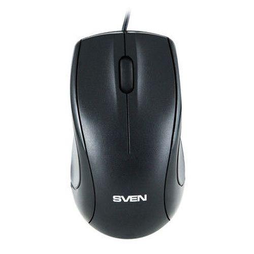 купить Mouse SVEN RX-150 Optical Mouse, 800dpi, Black, USB в Кишинёве
