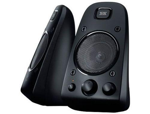 купить Logitech Z623 Black THX-Certified 2.1 Speaker System ( 2.1 surround, RMS 200W, 130W subwoofer, 2x35W satel. ), 980-000403 (boxe sistem acustic/колонки акустическая сиситема), www в Кишинёве