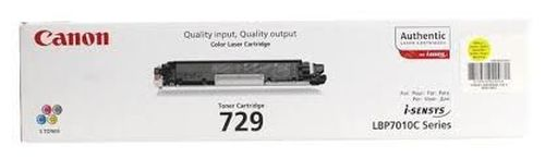 купить Cartridge Canon 729 Yellow (1500 pages) for LBP-5050/5050N, MF8030Cn/8050Cn/8080Cw в Кишинёве
