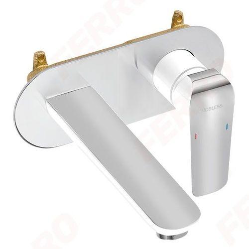 Смеситель для умывальника Ferro Tina White 38200.1 (ванная комната)