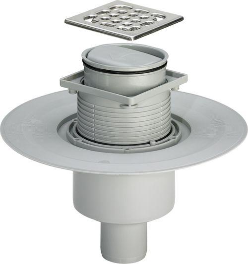 ADVANTIX трап для ванной, сухой затвор, вертикальный D50