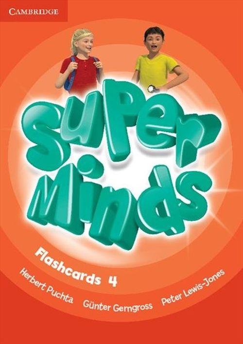 купить Super Minds Level 4 Flashcards в Кишинёве
