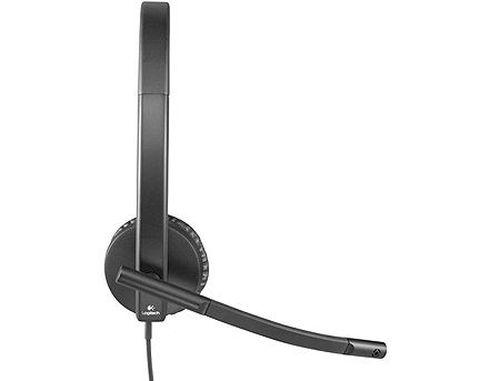 купить Logitech Headset USB Stereo H570e Black, Headset: 31.5Hz-20kHz, Microphone: 100Hz-18kHz, 2.5m cable, 981-000575 (casti cu microfon/наушники с микрофоном) в Кишинёве