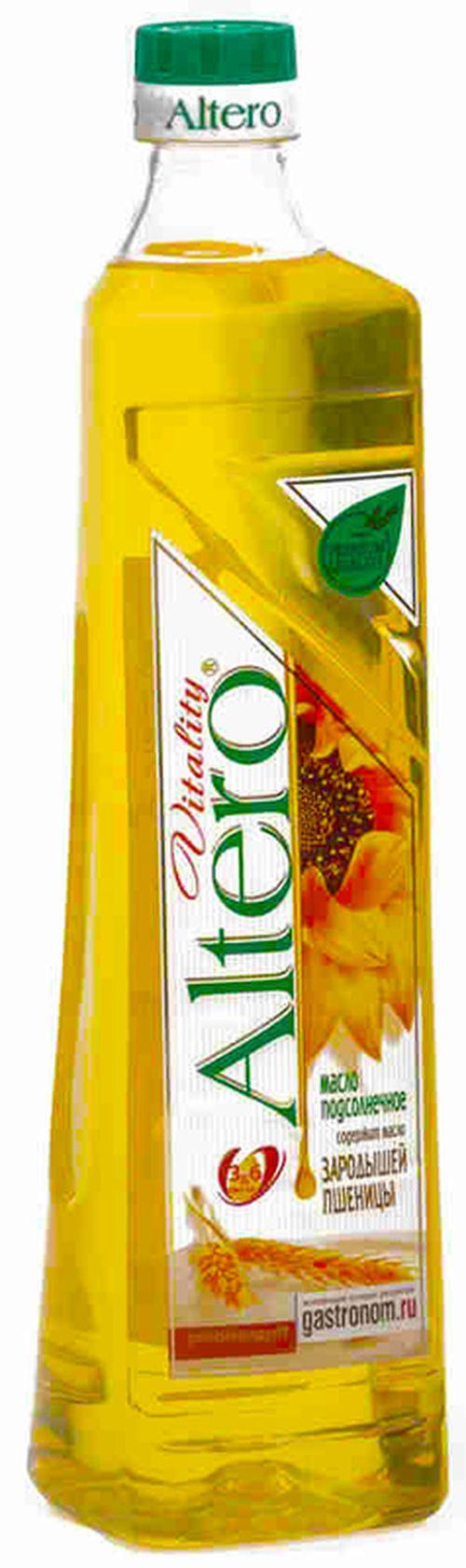 """купить Масло подсолнечное и зародышей пшеницы """"Altero Vitality"""" 810мл в Кишинёве"""